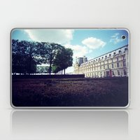 Louvre Gardens I Laptop & iPad Skin