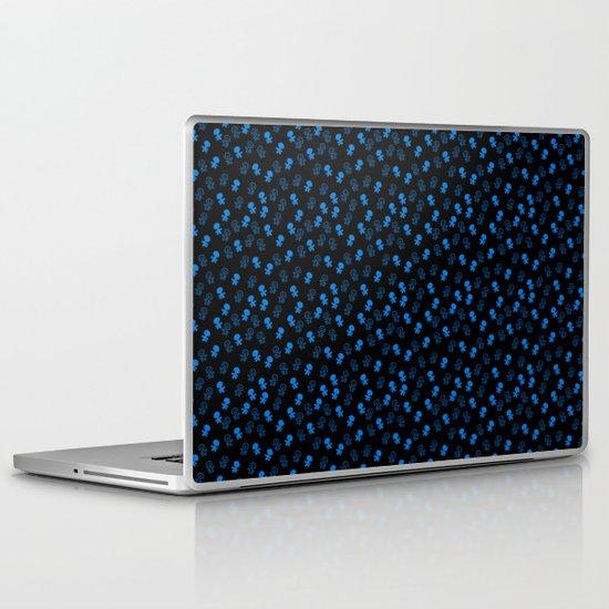 Aliens-Blue Laptop & iPad Skin