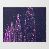 Dreaming of December Canvas Print