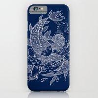 iPhone & iPod Case featuring The Koi Fishes by haidishabrina