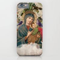 Saints Collection -- Madonna And Child iPhone 6 Slim Case