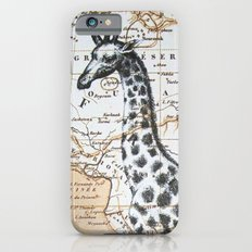 Giraffe in Africa: All Neck  Slim Case iPhone 6s