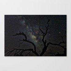 That Milky White Way Canvas Print