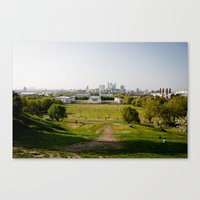Greenwich park Canvas Print