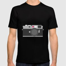 Leica SMALL Mens Fitted Tee Black