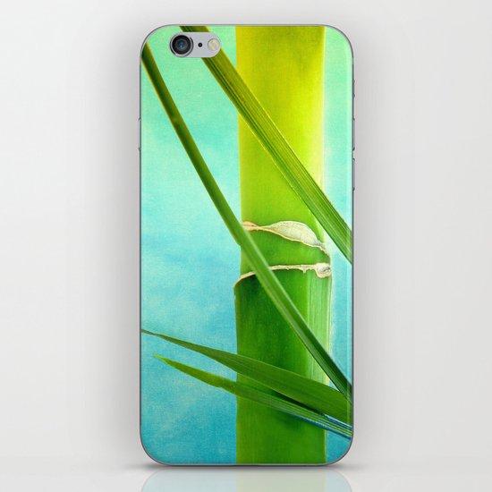 WELLNESS BAMBOO iPhone & iPod Skin