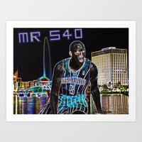 Victor Oladipo Mr. 540 Art Print