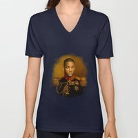 Will Smith - replaceface Unisex V-Neck