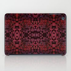 Electric Red Cubes  iPad Case