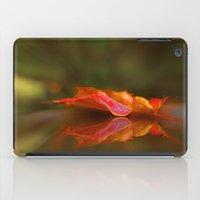 Maple Leaf Reflection iPad Case