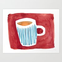 Coffee Art Print