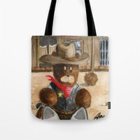 Sheriff Bear Tote Bag