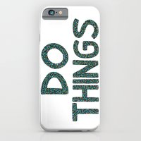 iPhone & iPod Case featuring Do Things by the bocket store