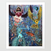 Spirit Migration Art Print