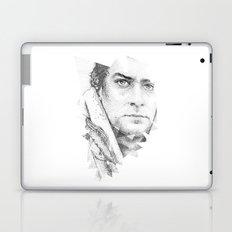 bonobo dot work portrait Laptop & iPad Skin
