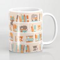 Library Cats Mug