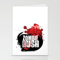 Zombie Rush - 2012 Stationery Cards