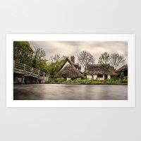 Flatford Mill Art Print