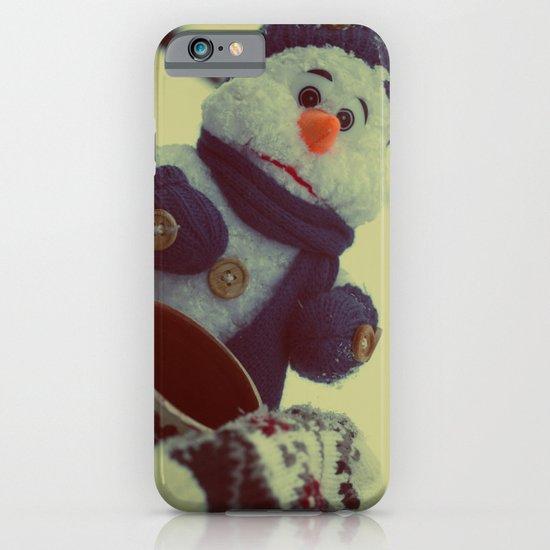 Sad Snownam iPhone & iPod Case