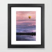 For A Dream Framed Art Print