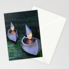 Drifting Down Stream Stationery Cards