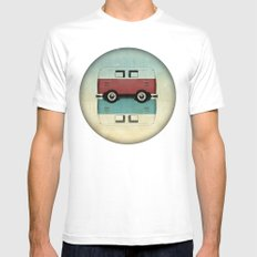 Kombi all backs White SMALL Mens Fitted Tee