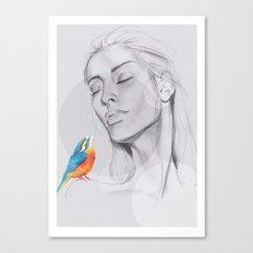 Enjoy The Silence Canvas Print