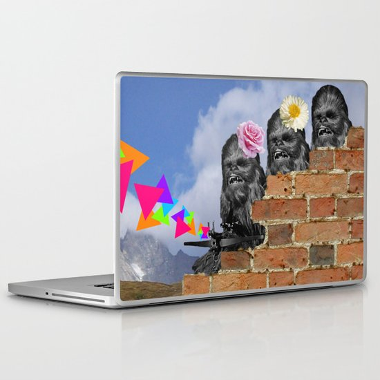 Only Two Flowers Laptop & iPad Skin