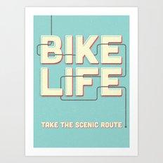 Bike Life - 2nd Edition Art Print