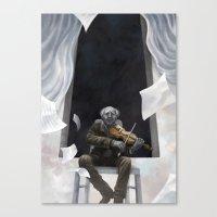 Die Musik des Erich Zann Canvas Print