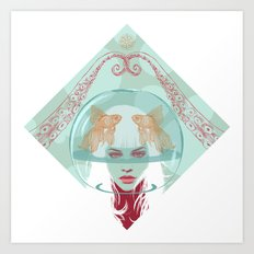 Nautical Surrealism Art Print