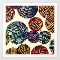 Yarn  Art Print