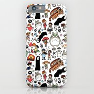 Kawaii Ghibli Doodle iPhone 6 Slim Case