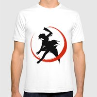 Assassin Mens Fitted Tee White SMALL