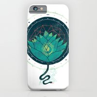 iPhone & iPod Case featuring Blue Lotus by Hector Mansilla