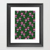 Funny Forest  Framed Art Print