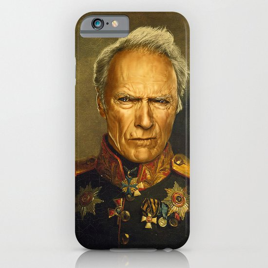 Clint Eastwood - replaceface iPhone & iPod Case
