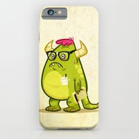 iPhone & iPod Case featuring Monster Nerd by The Drawbridge