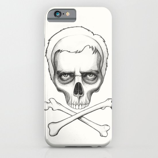 Everybody Dies - House MD Skull Crossbones iPhone & iPod Case