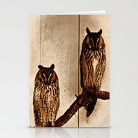 Couldn't Give Two Hoots! Stationery Cards