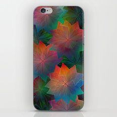 Skeleton Leaf Abstract 2 iPhone & iPod Skin