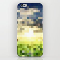 Pixel Sunset iPhone & iPod Skin