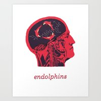 Endolphins Art Print
