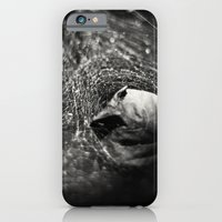 iPhone & iPod Case featuring Caught in Your Web by Rebecca A Sherman