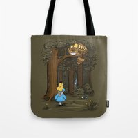 My Neighbor In Wonderlan… Tote Bag