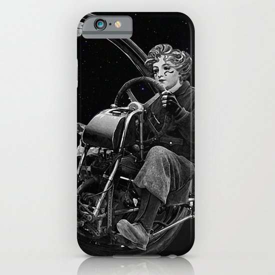 Getaway - Dieselpunk Monowheel iPhone & iPod Case