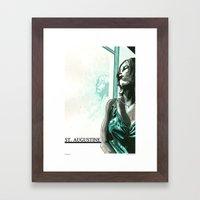 St. Augustine 3 Framed Art Print