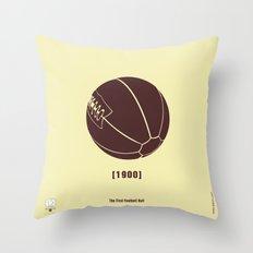 1900 Throw Pillow