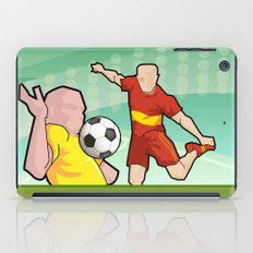 Soccer game iPad Case