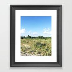 Texas Sky Framed Art Print